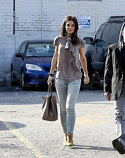 Pictures of Katie Holmes Shopping at Steven Alan in LA