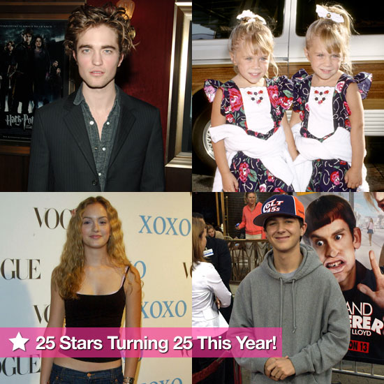 Robert, Leighton, Shia, MK, and Ashley: 25 Stars Who Are Turning 25 This Year!