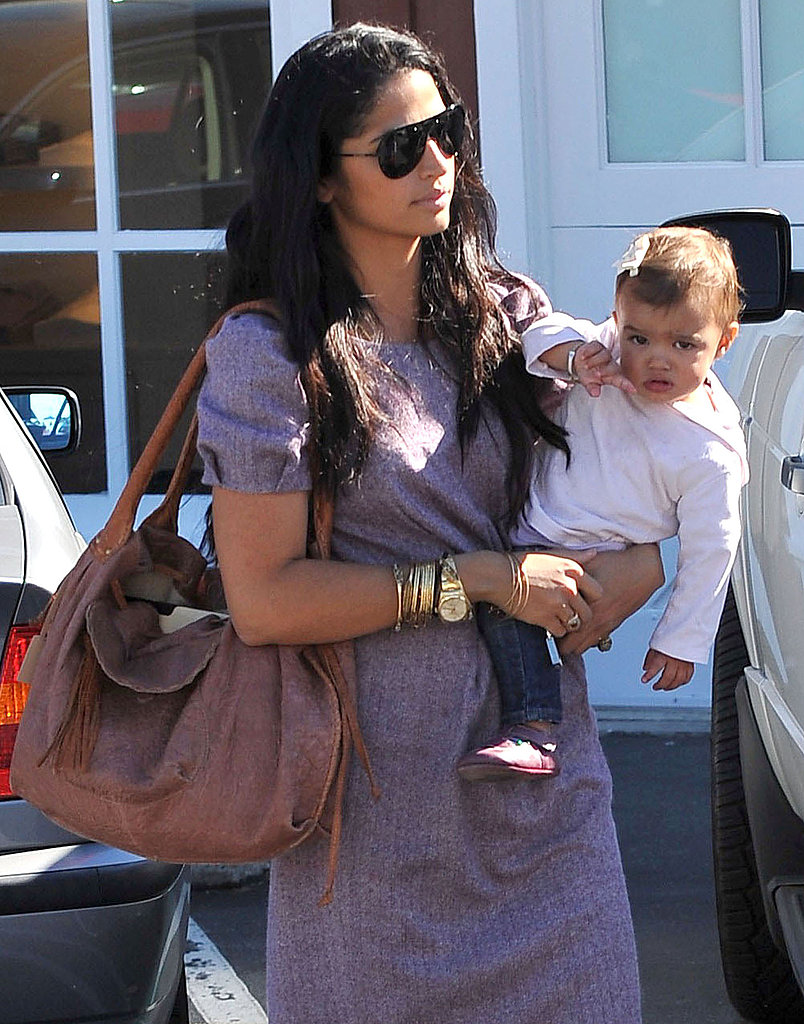Camila Alves and Vida Make a Girls' Stop at the Mart