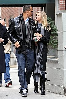 Pictures of Cameron Diaz and Alex Rodriguez Back in NYC
