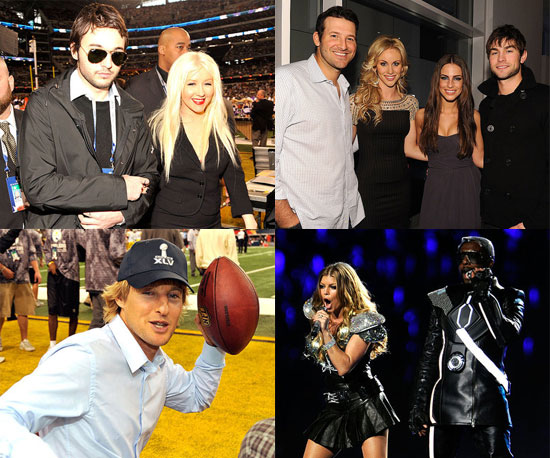 See All the Celebrities at Yesterday's Super Bowl!