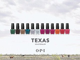 Pictures of OPI's New Texas Nail Polish Collection