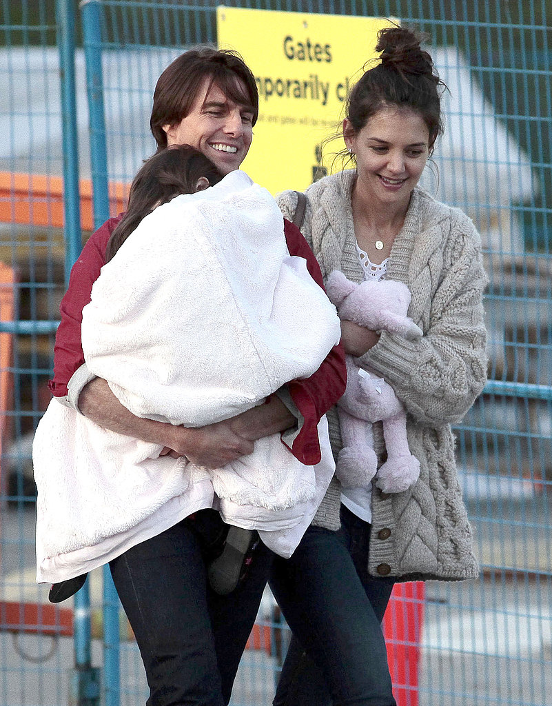 Pictures of Tom Cruise and Katie Holmes With Suri Cruise