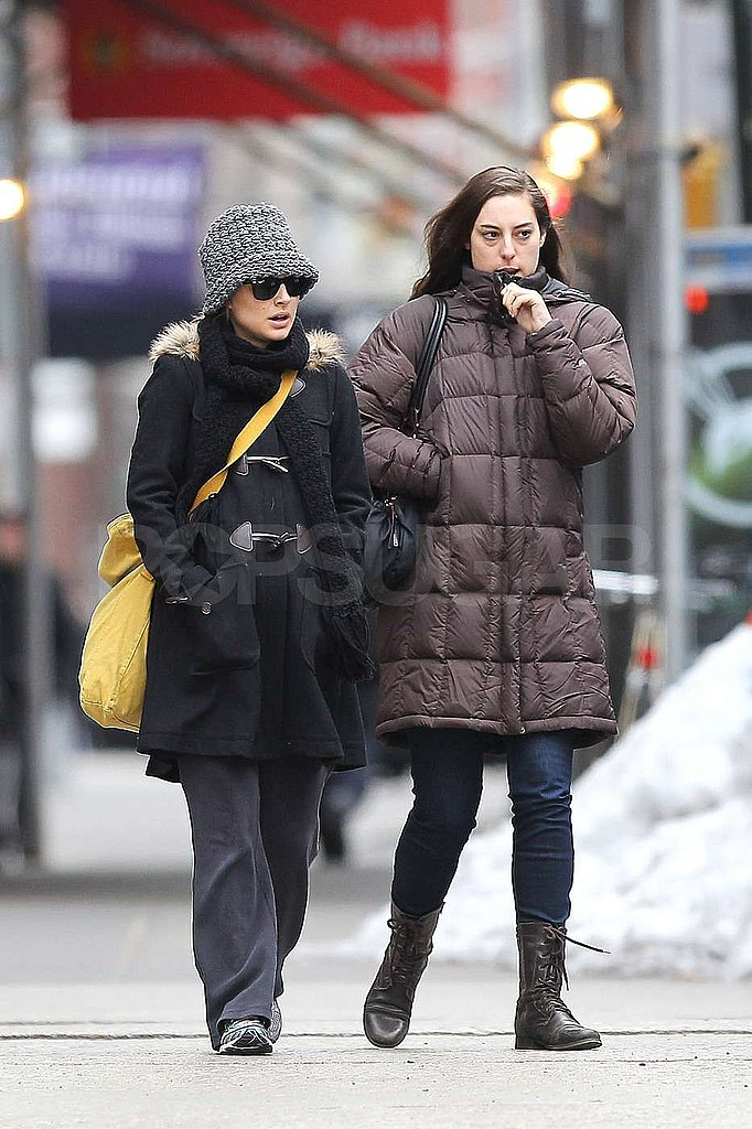 Natalie Takes Advantage of an Awards Season Lull in NYC