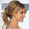 Dianna Agron Shows Us How to Handle It If Your Updo Starts Falling Apart