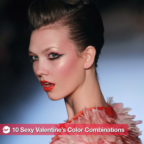10 Sexy Valentine's Makeup Color Combinations