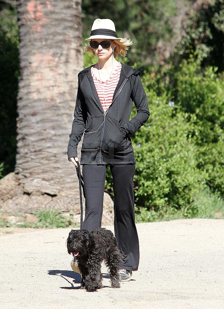 January Jones Steps Out With Her Pup and Makes an Appearance in the Awesome New X-Men Trailer