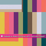 Pantone's 2011 Fall Color Report