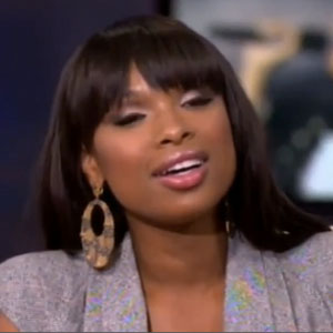 Jennifer Hudson on Oprah