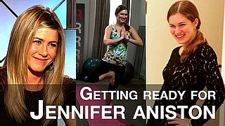 Video of I'm a Huge Fan Jennifer Aniston at Barneys and With Jennifer Aniston's Yoga Instructor