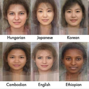What the Average Woman From 41 Countries Looks Like