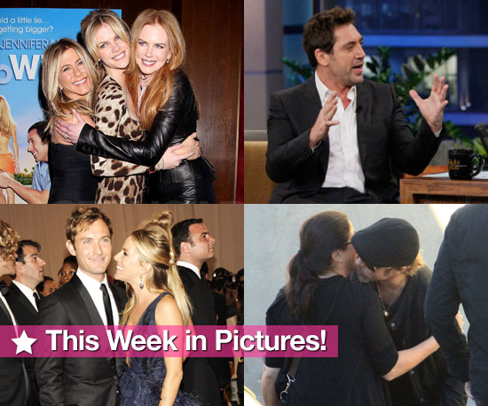Jennifer Just Goes With It, Javier's Son's Name, Ashlee and Pete Split, and More in This Week in Pictures!