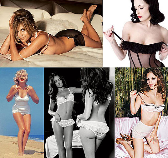 Get sexy V-Day ideas via our Valentine's Day Lingerie Guide.