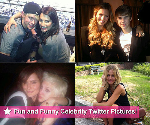 Celebrity Twitter Pictures From Lea Michele, Lara Bingle, Renee Bargh and More