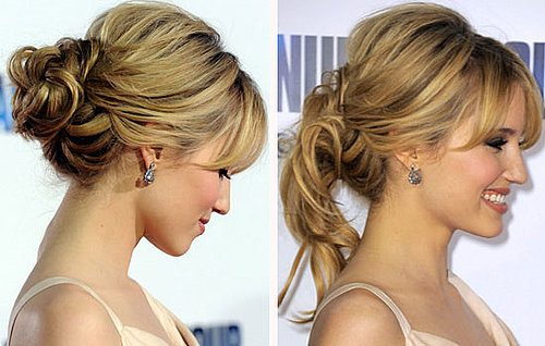 Dianna Agron Shows Us How to Handle It If Your Up 'Do Starts Falling Apart