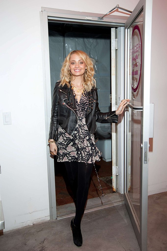 Nicole Richie Keeps the Fashion Week Fun Going at Another Launch Party
