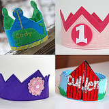 Felt Birthday Party Hats For Kids