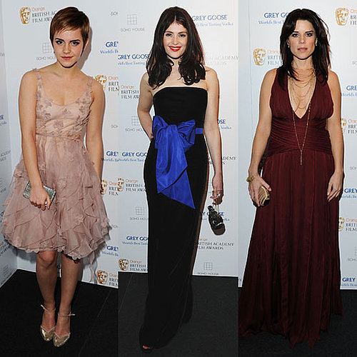 Pictures Emma Watson, Gemma Arterton, and Neve Campbell at BAFTAs Soho House Grey Goose Afterparty