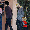 Pictures of Estranged Couple Ashlee Simpson and Pete Wentz at Lunch on Valentine&#039;s Day
