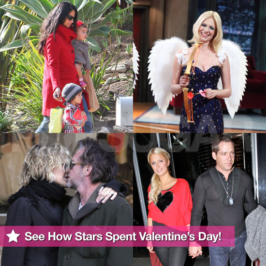 See How Stars Spent Valentine's Day!