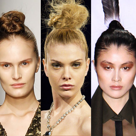 Trend Alert: High Buns at New York Fashion Week