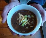 Cuban Black Bean and Potato Soup
