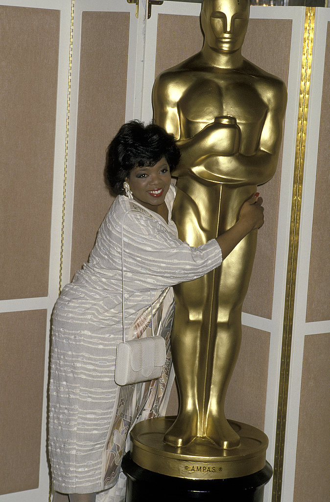 Oprah Winfrey, 1986.