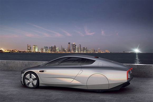 Photos of the VW Concept Car of the Future