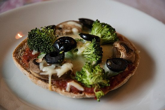Make a Mini Pizza on an English Muffin