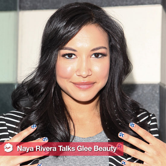 Naya Rivera Talks About Glee's New Nail Polish Collection (and More!)