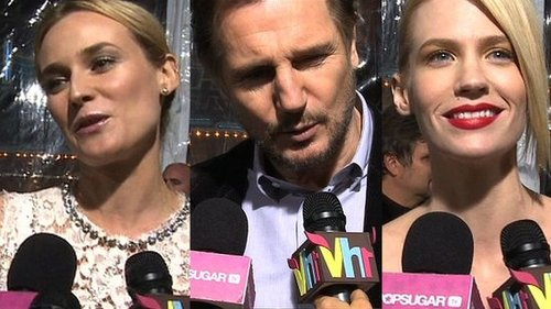 Video: Diane Kruger, January Jones, and Liam Neeson at the Unknown Premiere in LA