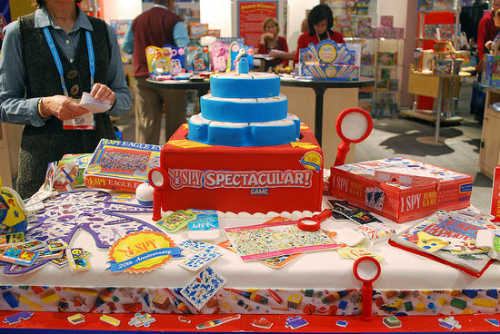 Celebrating its 20th anniversary I Spy worked with the Cake Boss's Buddy