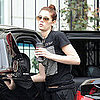 Pictures of Ashley Greene Being Dropped Off at Home in LA