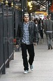 John Mayer Tours NYC With His Head Wrap as He Fights More Romance Rumors