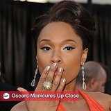 2011 Oscars Nail Trends: Celebrity Manicures Up Close 2011-02-27 21:37:34