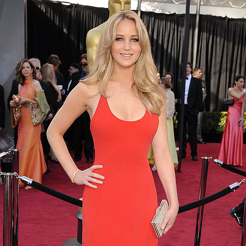 Pictures of Jennifer Lawrence on the Red Carpet at the 2011 Oscars