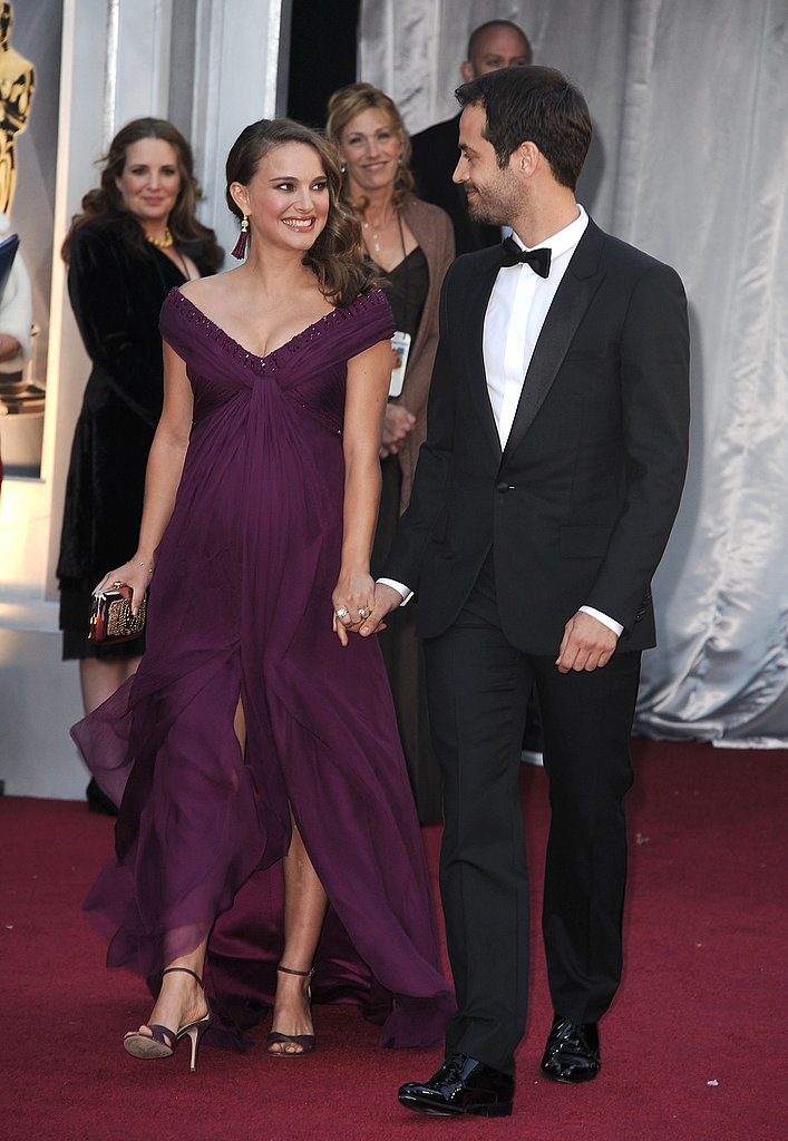 Natalie Portman's Big Oscars Pick Is Purple Rodarte!
