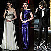 Anne Hathaway's Outfits During the 2011 Oscars