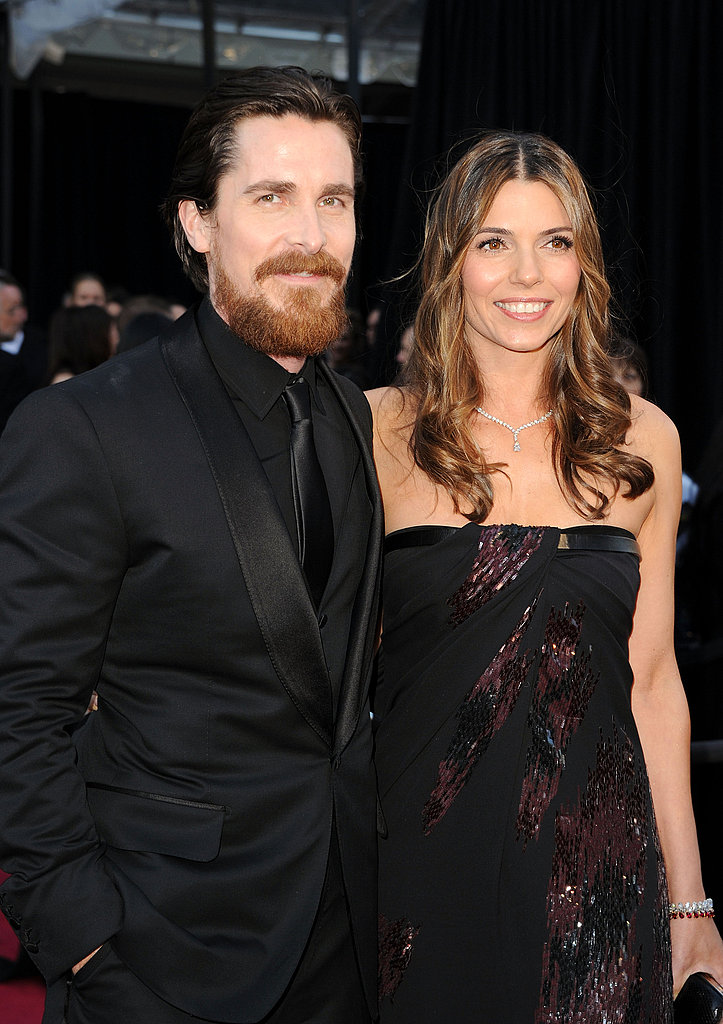 Christian Bale and Sibi Blazic