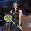 Pictures of Ashley Greene Celebrating Birthday at Pure in Las Vegas