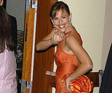 Presenter Jennifer Garner was all smiles backstage in 2004.