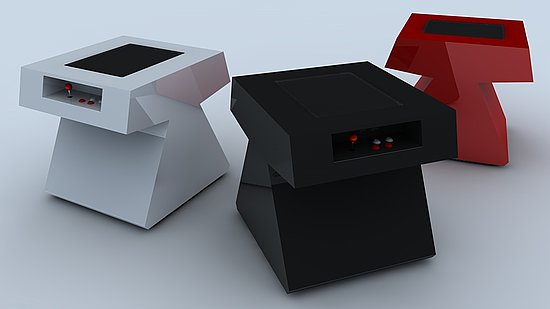 Luxurious Geek: Stealth Arcade Tables