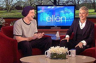 Cory Monteith Pulls Prank On a Yoga Instructor on the Ellen Show