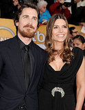 "Christian Bale and Sandra ""Sibi"" Blazic"