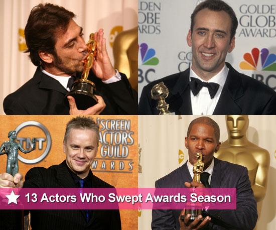 Actors Who Swept Award Season and Won Golden Globe, SAG Award, Oscars