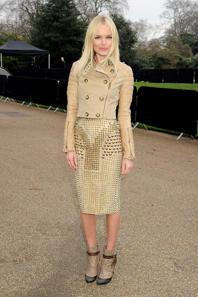 Kate, Rachel and Alexa Take Front Row Seats at Burberry
