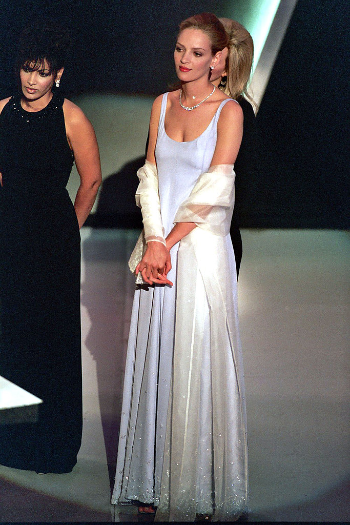 Uma Thurman in Prada, 1995