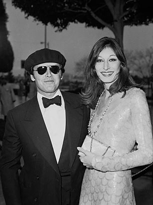 Anjelica Huston at the 1976 Academy Awards