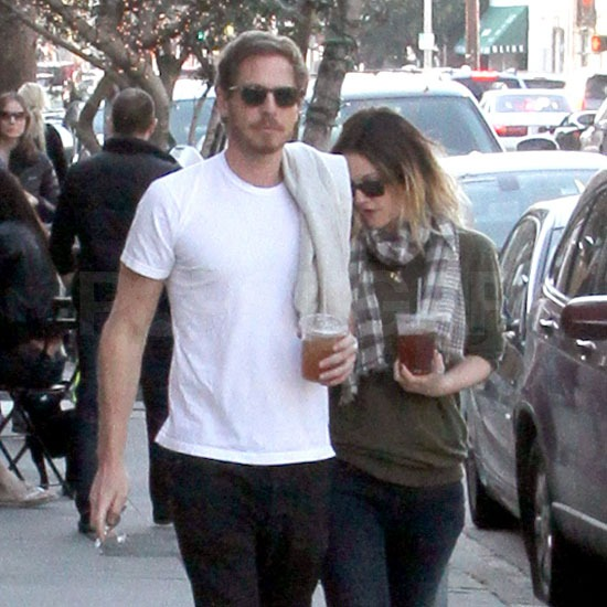 Pictures of Drew Barrymore With Her New Boyfriend Will Kopelman Leaving Joan's on Third