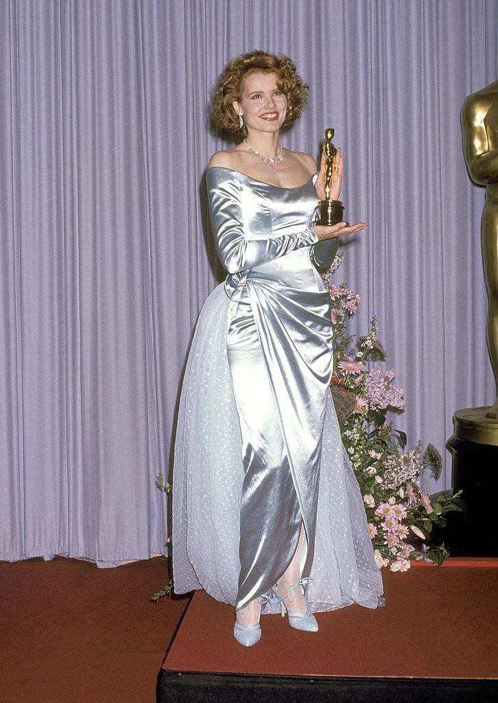 Geena Davis, 1989